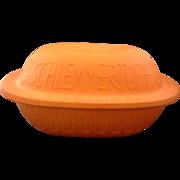 Schlemmertopf Scheurich Keramik 838 West Germany Clay Terracotta Baker Cooker