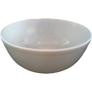Pyrex Opal White Milk Glass 404 4 Qt Mixing Bowl Unmarked Rare