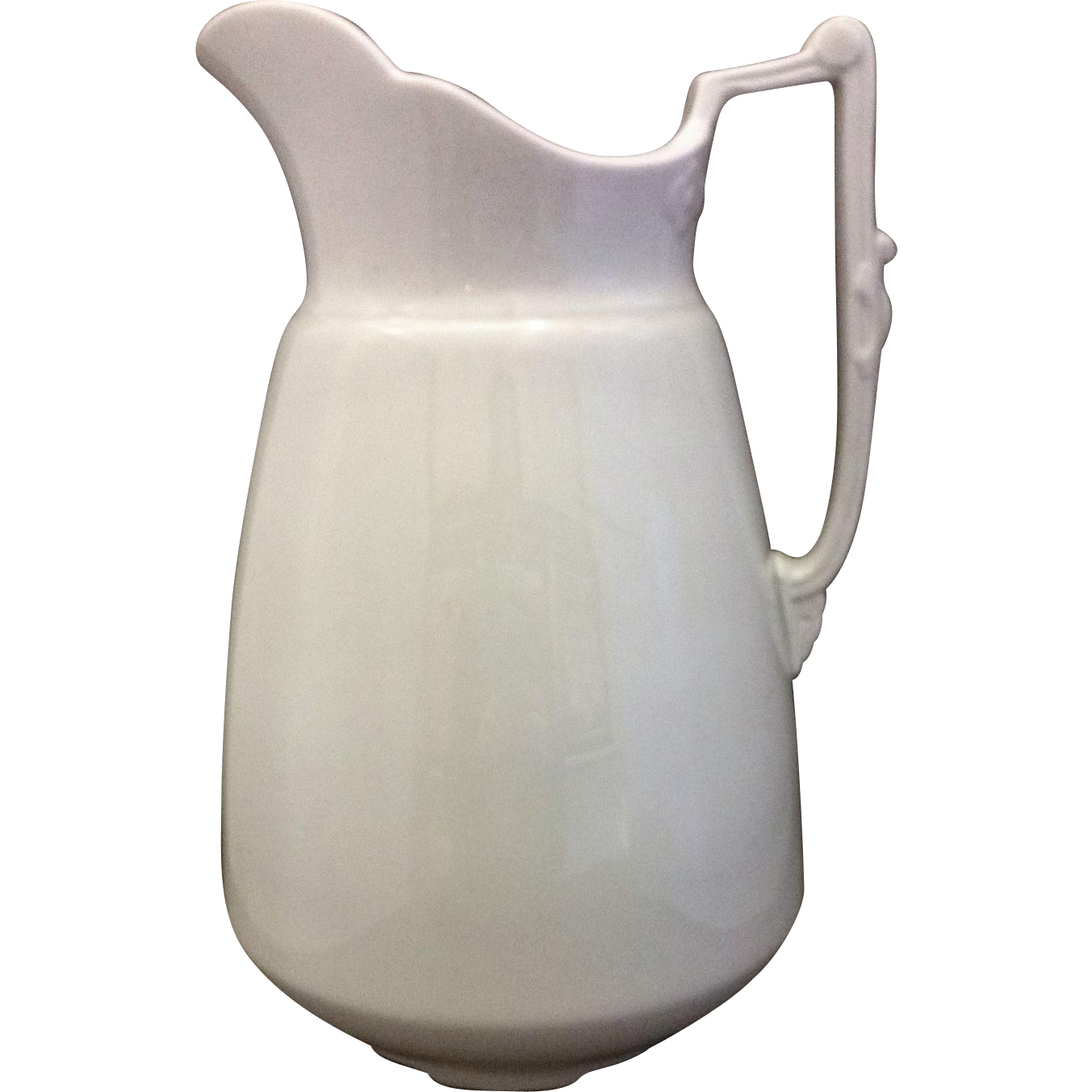 Burgess & Goddard Royal Patent Ironstone 12 IN Wash Pitcher Antique