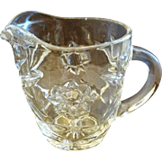 Early American Prescut Creamer Anchor Hocking