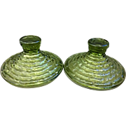 Soreno Avocado Green Anchor Hocking Sugar Lids Only