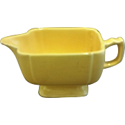 Homer Laughlin Riviera Yellow Creamer