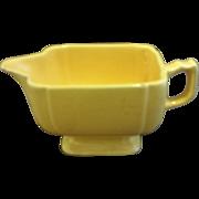 Homer Laughlin Riviera Yellow Creamer
