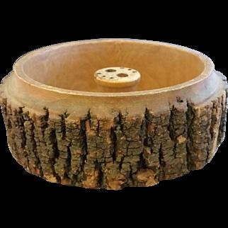 2,058 items Ellwood Rusticware Tree Slice Nut Bowl Only