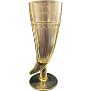 Powder Horn Pilsner Beer Glass Clear