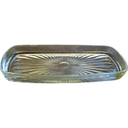 Clear Glass Butter Dish Liner