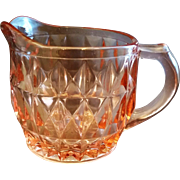 Jeannette Windsor Pink Creamer Depression Glass