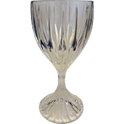 Mikasa Park Lane Crystal Goblet Wine Glass 6 3/8 IN