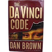 Da Vinci Code by Dan Brown Hardcover With Dustjacket 1st Edition 3rd Printing