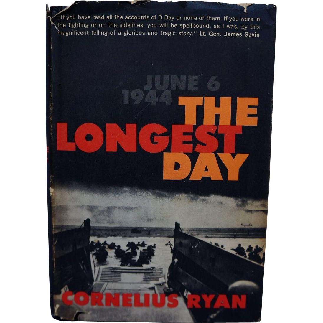 The Longest Day Cornelius Ryan 1959 Simon Schuster Book Club Edition