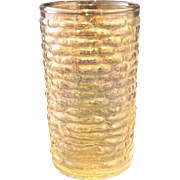 Soreno Aurora Juice Glass Iridescent Ribbed