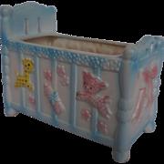 Napco Napcoware Baby Bed Crib Planter