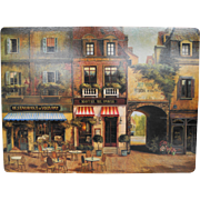 Pimpernel Paris Bistro Cafe Street Scene Placemats Set of 4