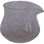 Princess House Heritage Jam Condiment Jar No Lid