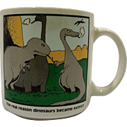 The Far Side The Real Reason Dinosaurs Became Extinct Mug Gary Larson