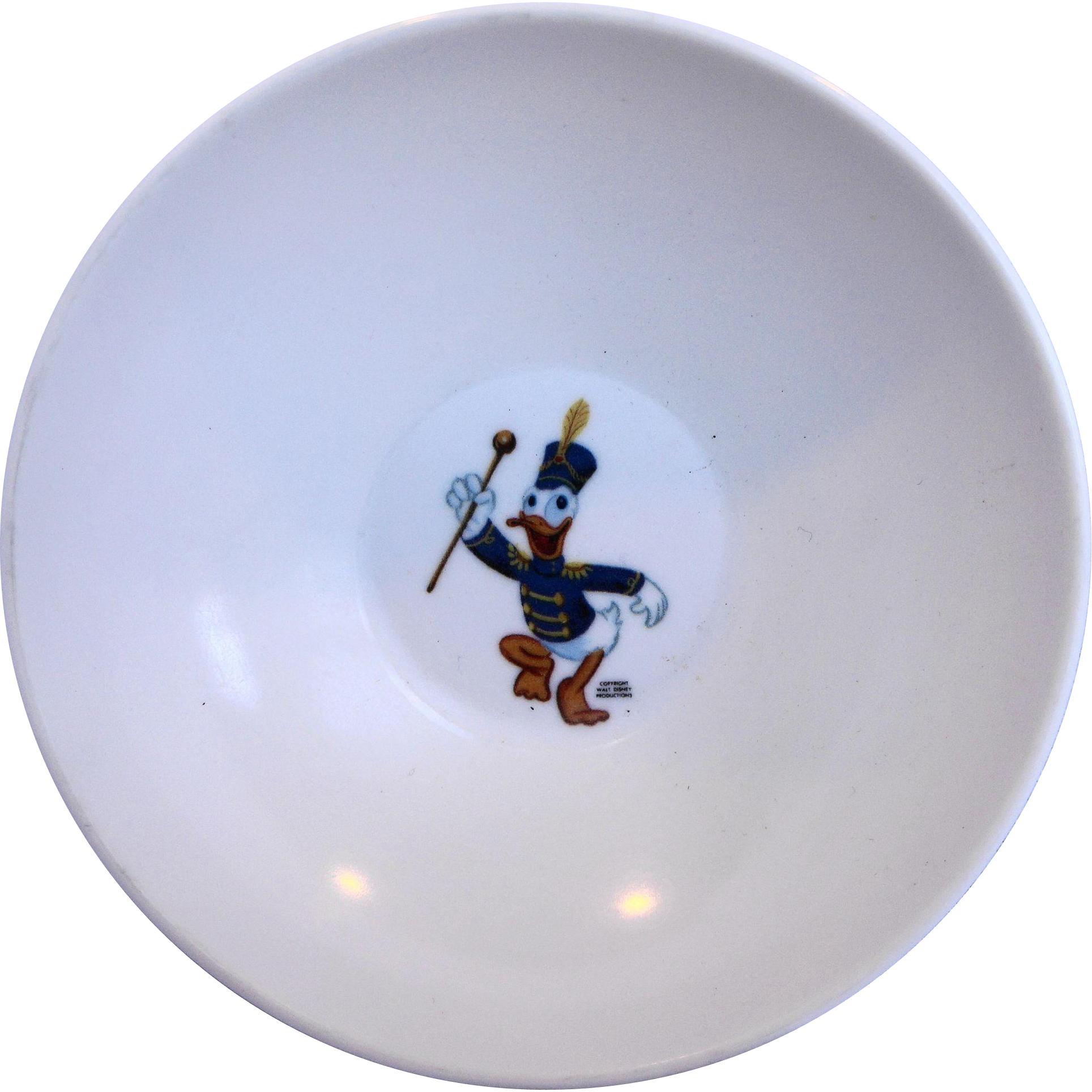 Donald Duck Mickey Mouse Club Melmac Bowl Disney Sun Valley