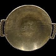 Buenilum Grape Pattern Serving Bowl Hand Forged Aluminum