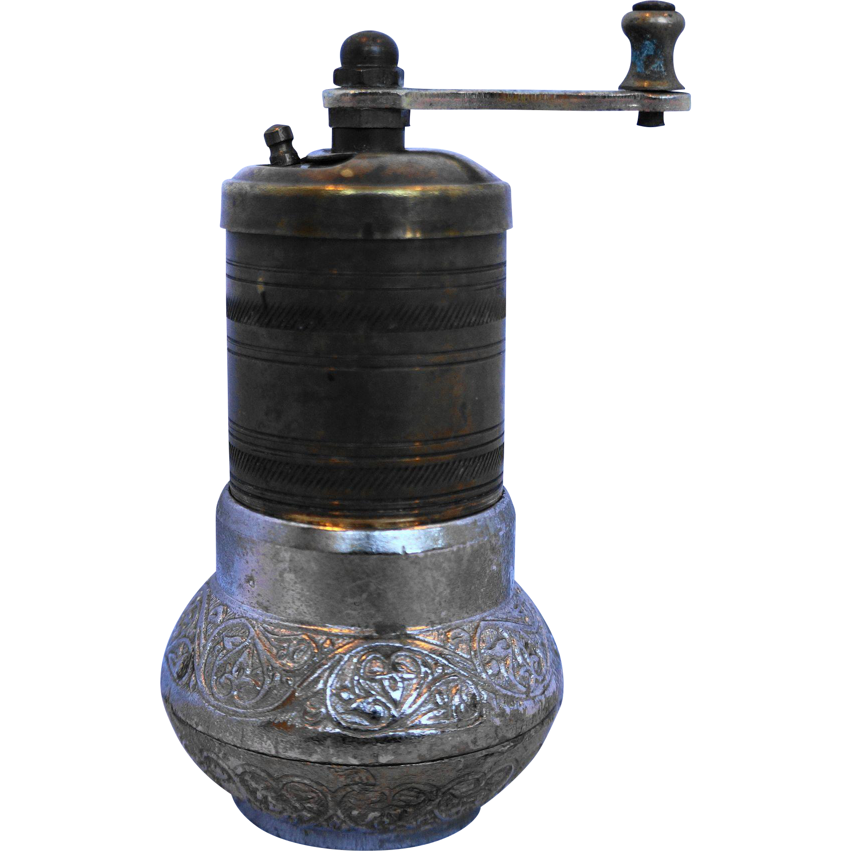 Turkish Brass Spice Pepper Coffee Grinder