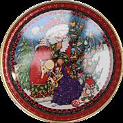 Mary Engelbreit Santa Christmas Tray Hallmark - Red Tag Sale Item
