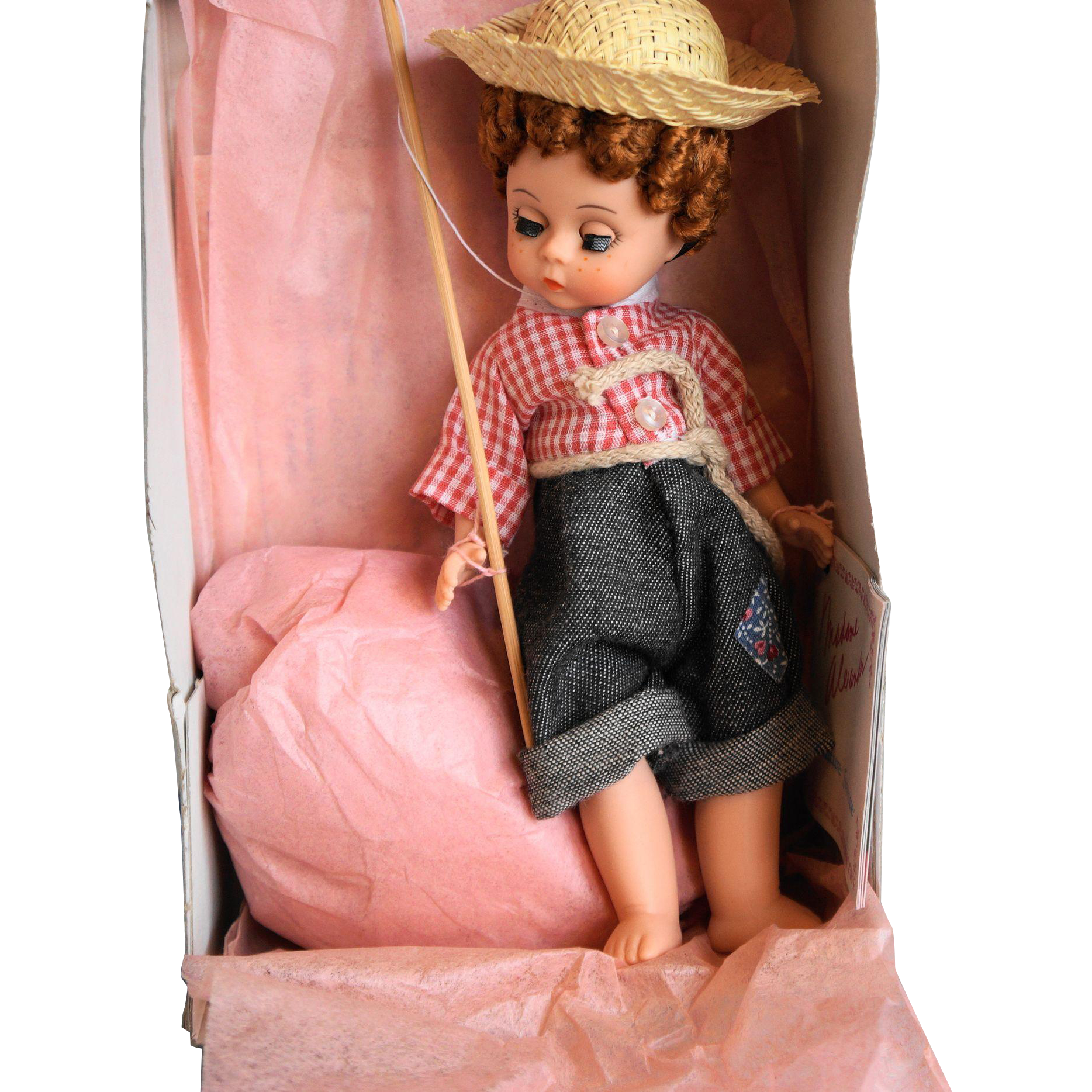 Madame Alexander Huckleberry Finn 490 Doll 8 IN MIB