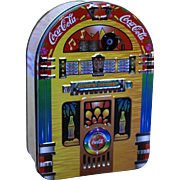 Coca-Cola Jukebox Tin 1996