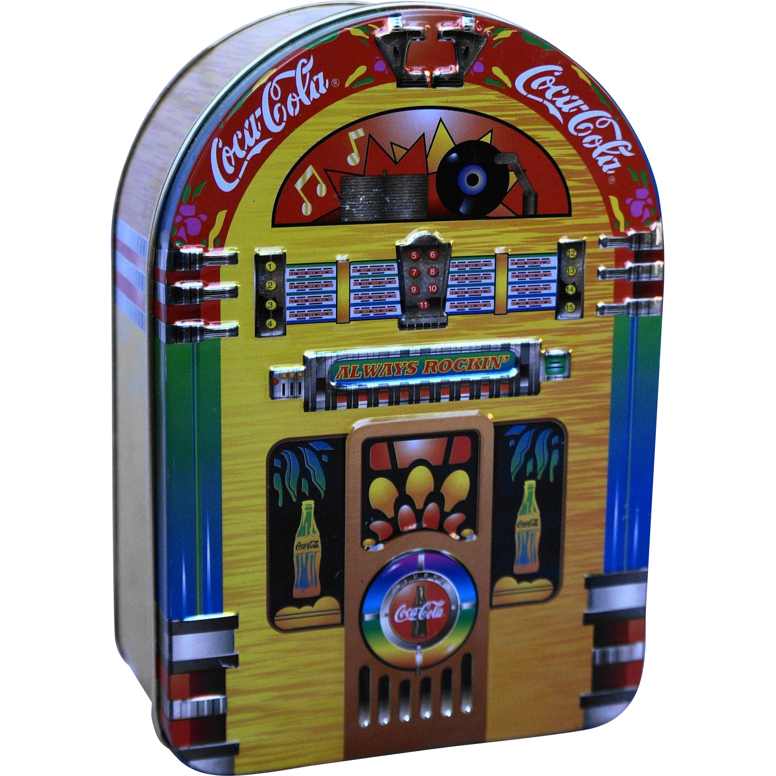 Coca-Cola Jukebox Tin 1996