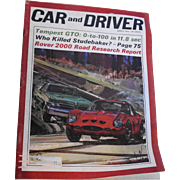 Car and Driver Magazine March 1964