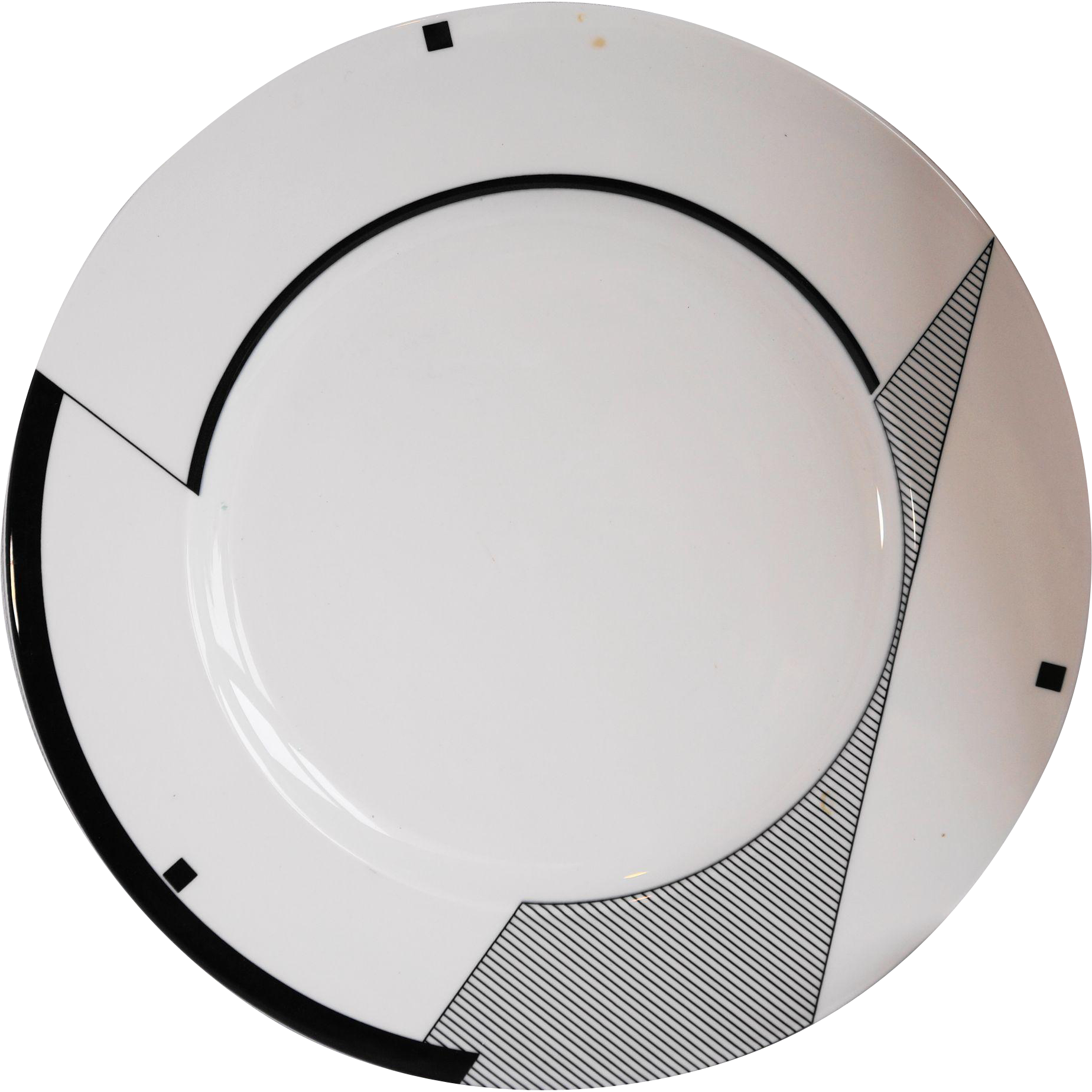 Christopher Stuart Angles Chop Plate Round Platter HK200