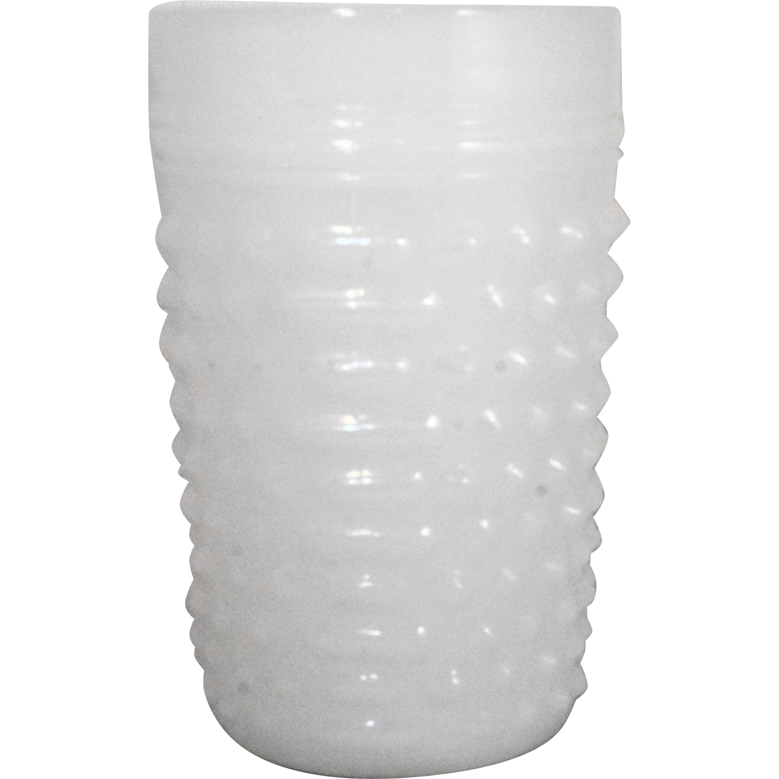 Anchor Hocking Fire King White Milk Glass Hobnail Tumbler 8 oz
