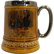 Lord Nelson Pottery England A Good Husband Mug Stein
