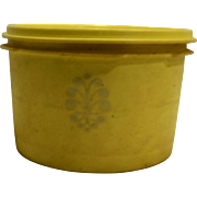Tupperware Servalier Canister Daffodil Yellow 1298-13