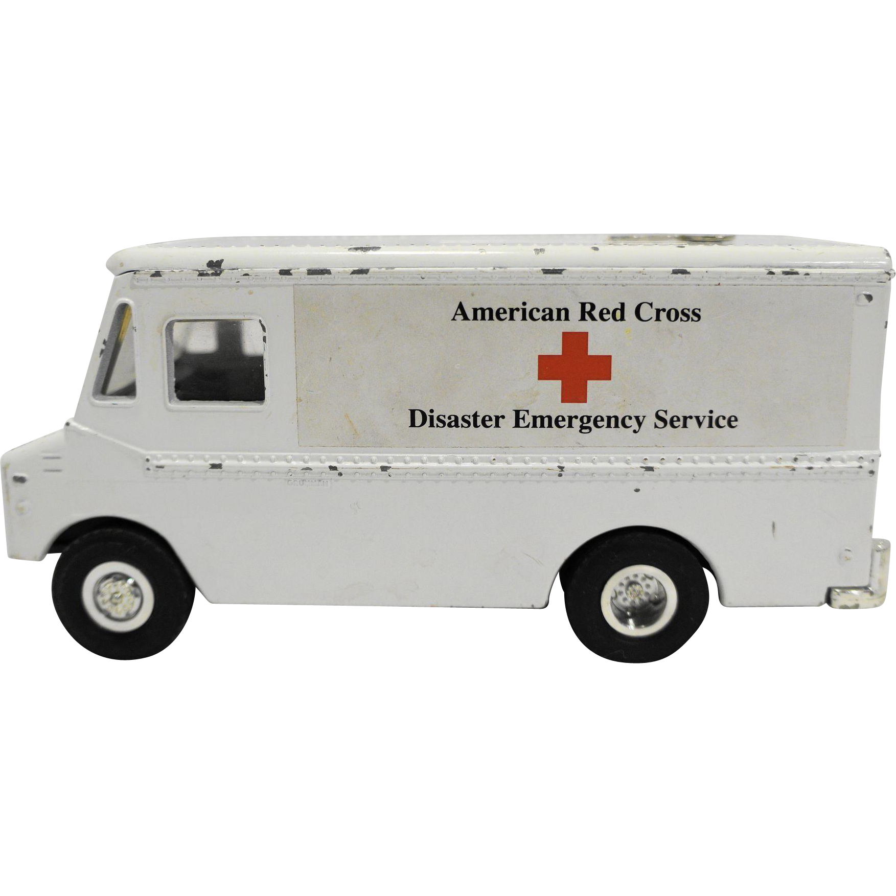 ERTL American Red Cross Disaster Emergency Service Diecast Bank With Key