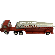 Red Tonka Firetruck Fire Truck 55170 1970s Die Cast Metal Toy