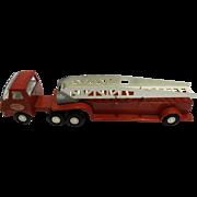 Red Tonka Firetruck Fire Truck 55170 1970s Die Cast Metal Toy