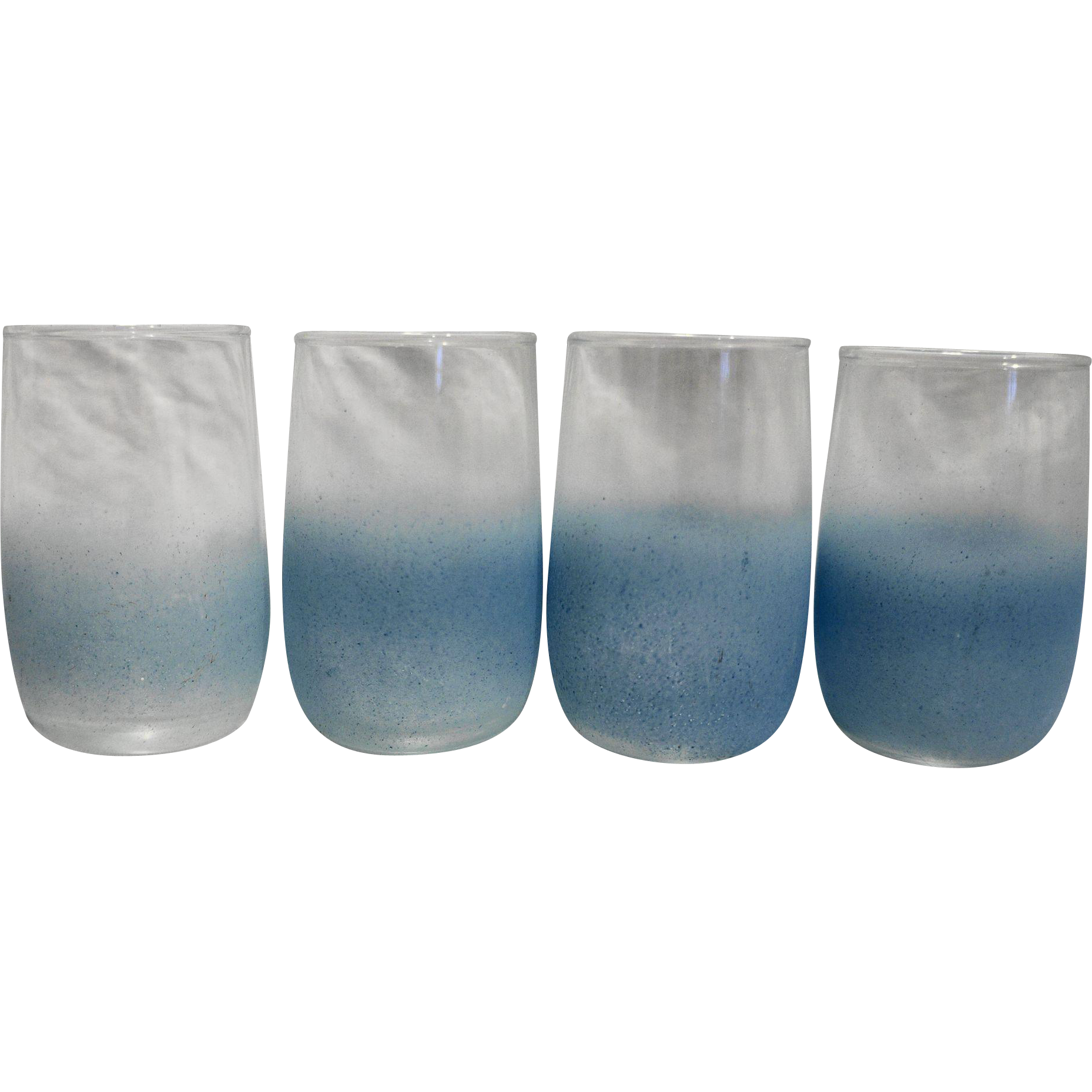 Blendo Powder Blue Juice Glasses Set of 4