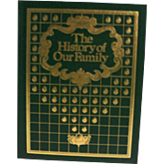 The History of Our Family by Julie Hausner Green Gold Hardback 1977