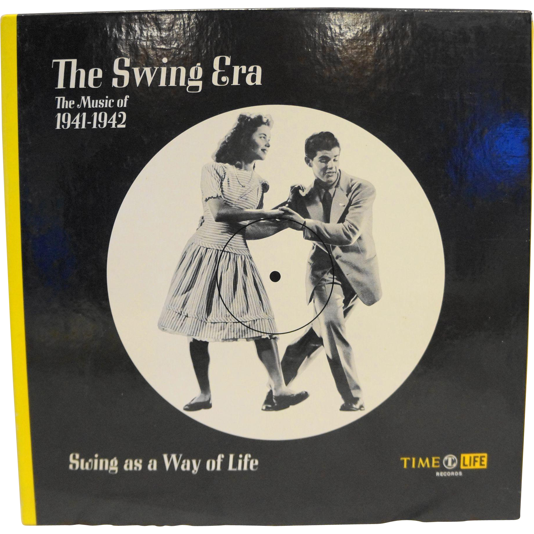 Time-Life The Swing Era Swing As A Way Of Life 1941-1942 Vinyl Record Book Set