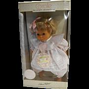 Corolle Catherine Refebart Carousel of Playthings Soft Vinyl Doll 18 IN NRFB