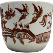 Red Willow Restaurant Ware Cup Cameo Durable China
