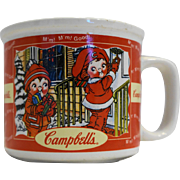 Campbell's Soup Fall Winter Seasons Soup Mug Houston Harvest