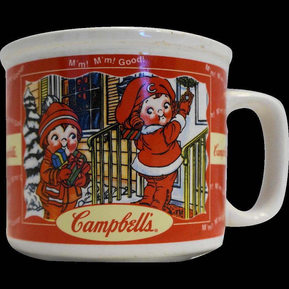 Campbell's Soup Fall Winter Seasons Soup Mug Houston Harvest