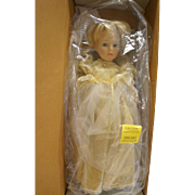 Susan Wakeen Cinderella Doll 19 IN Limited Edition 294/5000 NIB White Gold Dress
