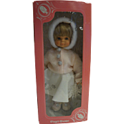 Engel Puppe Frankenmuth Freund 17 IN Doll Snow Theme NRFB