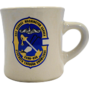US Navy USS George Washington Carver, SSBN-656 Sub Mug Cup Ultima China Heavy