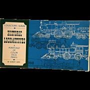 Collector's Album Historic Locomotives Robert Kern Color Etch Foil Prints