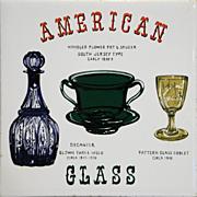 American Glass Decorated Ceramic Tile Trivet