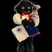 Steiff Molly Golli Girl With Peg Doll Black Felt Ltd Ed EAN 651878 The Toy Store