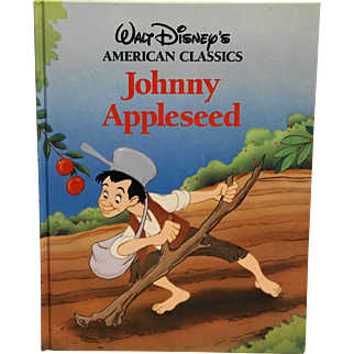 Johnny Appleseed Walt Disneys American Classics Hardback 1989