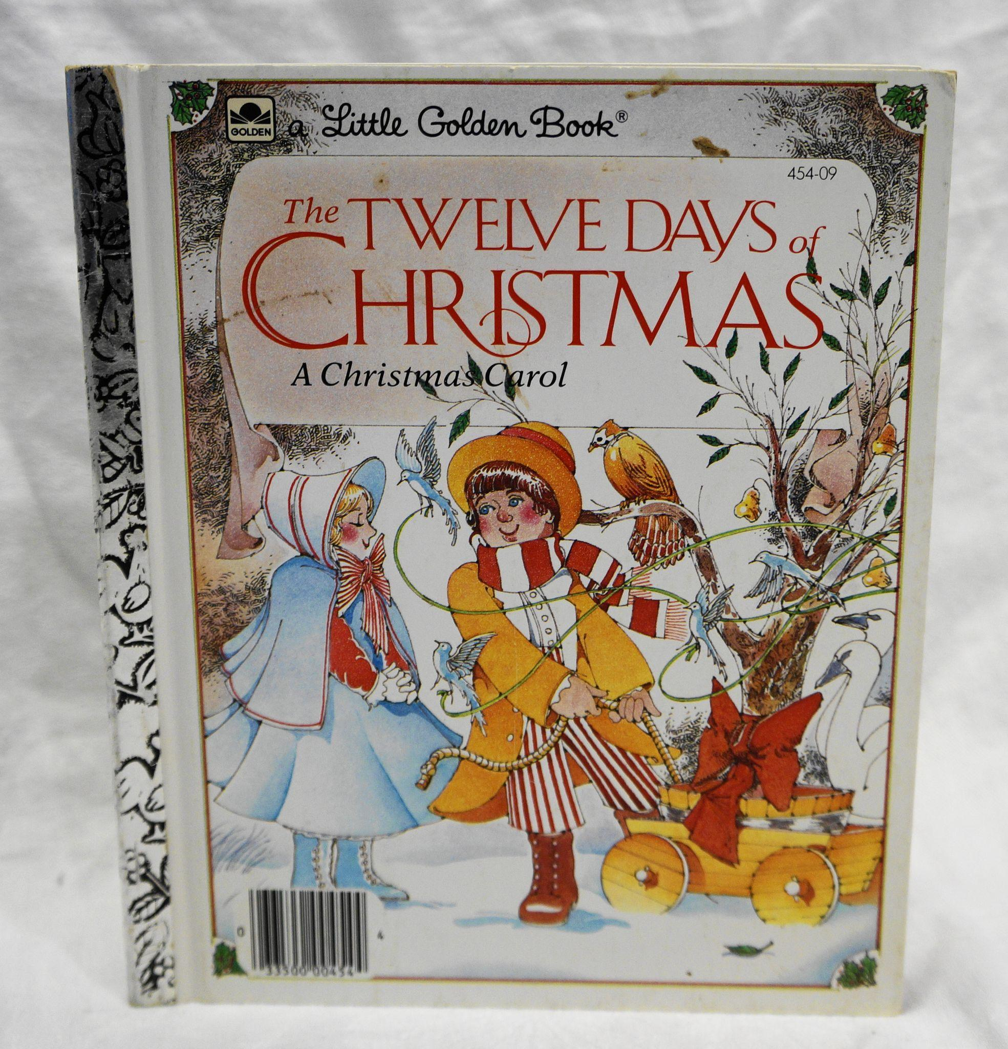 Twelve Days Of Christmas Carolers: The Twelve Days Of Christmas Little Golden Book 1983 From