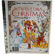 The Twelve Days of Christmas Little Golden Book 1983